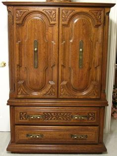 Superior Sumter Furniture, Sumter N.C. Double Door/Drawer Armoire
