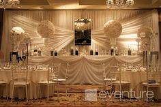 wedding backdrops for a tent | backdrops backdrops ceiling canopies mahitza chuppa room wall liners ...