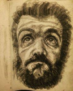 #sketchbook #selfportrait #art #drawing