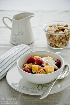 Tropical Fruit, Nut and Spelt Granola from @Meeta Wolff