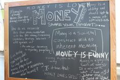 money board... 10 things you dont need to spend money on!
