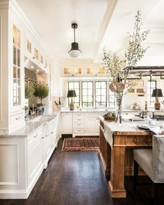 """766 Likes, 12 Comments - Kristy Woodson Harvey (@kristywharvey) on Instagram: """"Pick the perfect paint for your kitchen on Design Chic today, link in profile. Image via…"""""""