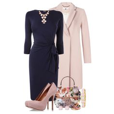 """Pink & Blue"" by simona-risi on Polyvore"