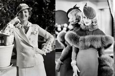 Одежда и аксессуары в стиле 30-х