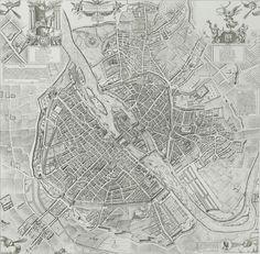 Historical Paris France 1609 Old Antique Street Style Map Art Print Paris France, France Map, Paris Map, Map Vintage, Vintage World Maps, Old Maps, Antique Maps, Paris Au Moyen Age, Plan Paris