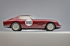 Ferrari 275 GTC from 1966 is expected to fetch €1.3 million-€1.6 million at Artcurial's Le Mans Classic sale;