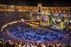 Music! I love music and will take in a show here before I die...Plaza de Toros Palma de Mallorca, Spain