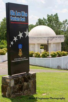 Video featuring Ola Lee Mize Patriots Park in Gadsden, Alabama. Brad Wiegmann Photography