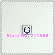 Indianapolis Colts Floating Charm SEC Sports Teams Charm Pendant For Glass Floating Locket DIY Charms from Rita's Wholesale Store on Aliexpress.com
