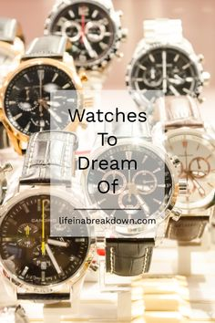 Watches To Dream Of #watches #timepieces #beautifulwatches Amazing Watches, Beautiful Watches, Cool Watches, Watches For Men, Panerai Radiomir, World Watch, Cartier Tank, Omega Constellation, Must Have Items