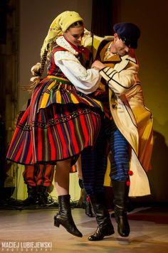 Folk costume from Opoczno, Poland.