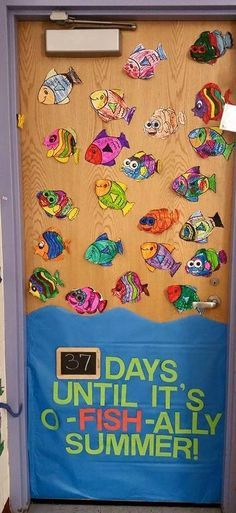 Countdown to the end of the year! The students decorated the fish and I let then change the number at the end of each day and they LOVED it!