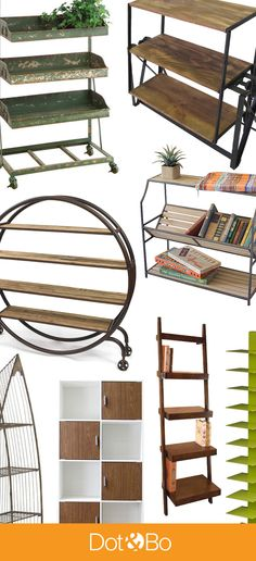 Discover gorgeous modern bookcases for every room in your home. Featuring unique styles, from sleek Mid-Century Modern to stripped-down Industrial to celebrated Scandinavian. Interior And Exterior, Interior Design, Modern Bookcase, Home Projects, Craft Projects, Apartment Living, Making Ideas, Just In Case, Decoration