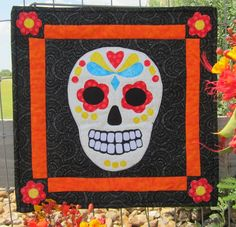 Sugar Skull Wall Hanging FREE Pattern