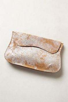 Pinto Basin Clutch by Miss Albright Neutral Motif One Size Clutches