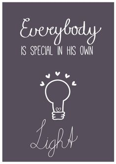 Everybody is special | free printable | Nelleke Wouters | poster | quote
