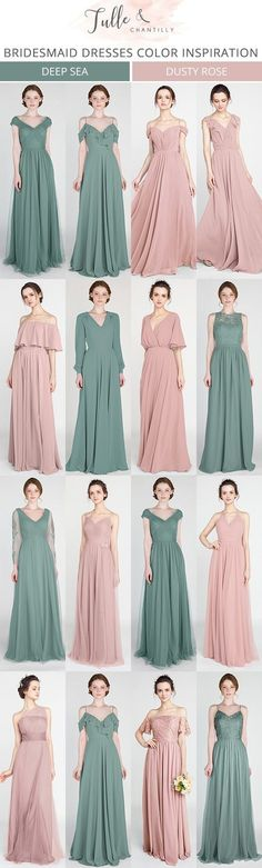 35 Ideas Dress Bridesmaid Hijab Brokat For 2019 Long gone are the times when bridesmaids shrink from their dresses. Now, with this kind of wide choice of dress styles available, choosing bridesmaid dr Dusty Rose Bridesmaid Dresses, Bridesmaid Dress Colors, Colored Wedding Dresses, Wedding Bridesmaids, Trendy Dresses, Nice Dresses, Fashion Dresses, Bridal Gowns, Wedding Gowns