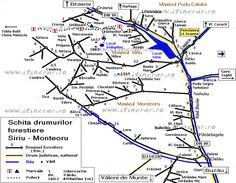 Harta trasee Lacul Vulturilor