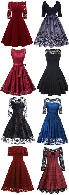 Looking for a Lace Dress that'll work for all parties you've got coming O. Looking for a Lace Dress that'll work for all parties you've got coming OFF Vintage Dres Trendy Dresses, Cute Dresses, Vintage Dresses, Beautiful Dresses, Short Dresses, Fashion Dresses, Dresses For Work, Dress Work, 1950s Dresses