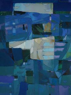 "Saatchi Art Artist Vadim Puyandaev; Painting, ""Boats #9"" #art"