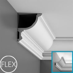 C901 with flex logo- Cornice moulding for uplighting
