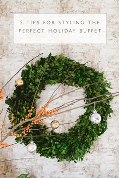 HOW TO STYLE :: YOUR HOLIDAY BUFFET! - coco kelley   Sponsored by Dunkin' Donuts #DunkinAtHome *ad #BakerySeries