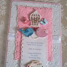 Congratulations On Your Wedding Day, I Card, Frame, Decor, Picture Frame, A Frame, Decorating, Dekoration, Frames