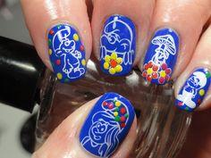 Smurftastic Smurf Nails!