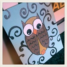 My owl painting Owls, Crafty, Painting, Ideas, Art, Painting Art, Paintings, Kunst, Paint