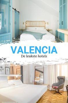 Hotels in Valencia. Bekijk de mooiste hotels in Valencia, gelegen vlak aan zee of in het centrum, knus of juist grootschalig, stijlvol en heel kleurrijk. Valencia, Cheap Boutiques, Cheap Hotels, Beautiful Hotels, Spain Travel, Malaga, Bali, Travel Tips, Luxury