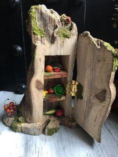 Faery Pantry/Fridge miniature fairy furniture fairy