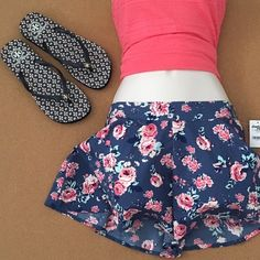 Soft Shorts XS-Flirty Soft Shorts, Stretchy Back......Cute for the summer! This listing is only for the shorts. PRICE IS FIRM... 〰Price is Final on items $15 or less unless Bundled〰 Thank you  Charlotte Russe Shorts