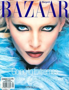 Bazaar September 1994 - Nadja Auermann