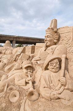 2014 Sand Sculpture Festival | by ToddinNantou