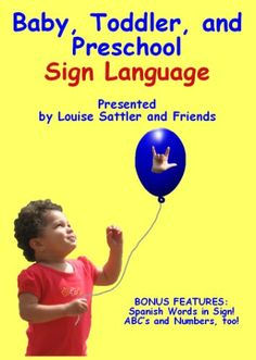 Baby, Toddler, and Preschool Sign Language Signing Families https://www.amazon.com/dp/B001BEX1GO/ref=cm_sw_r_pi_dp_x_5Lk.ybNP08ZM1
