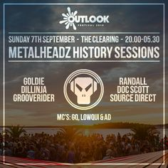 Doc Scott- Outlook Festival, by Metalheadz on SoundCloud Outlook Festival, Gq, History, Drum, Bass, Stage, Future, House, Ideas