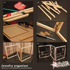29 best ideas for jewerly organizer diy ideas jewellery Jewellery Storage, Jewellery Display, Diy Jewelry, Jewelry Box, Jewelry Hanger, Jewelry Boards, Jewelry Stand, Jewelry Accessories, Fashion Jewelry