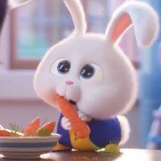 Cute Bunny Cartoon, Cute Cartoon Pictures, Cartoon Pics, Cartoon Wallpaper Iphone, Cute Disney Wallpaper, Cute Cartoon Wallpapers, Rabbit Wallpaper, Bear Wallpaper, Snowball Rabbit