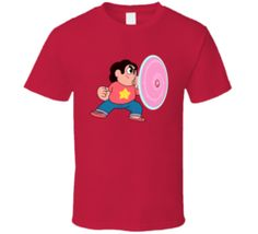 Steven Universe shield crystal gems T Shirt