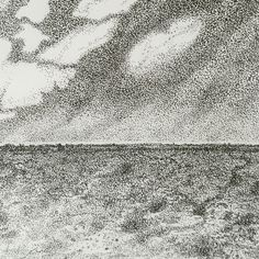 Pen and Ink Karoo Landscape Annie, Ink, Landscape, Abstract, Artwork, Summary, Scenery, Work Of Art, Auguste Rodin Artwork