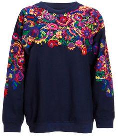 I love interesting sweatshirts!                                                                                                                                                                                 More