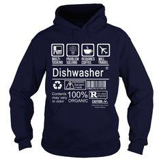 (Top Tshirt Deals) DISHWASHER [Tshirt Sunfrog] Hoodies, Funny Tee Shirts