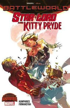 GENRE: Graphic Novel. OK, so they're not 'together' together: This isn't the Kitty that Peter Quill fell in love with. This is the fierce, battle-hardened and embittered Kitty Pryde from the Age of Apocalypse! Now, the very confused Quill and the really annoyed Pryde must band together and fight to survive the horrors of Battleworld - but can they wage a secret war while dealing with one another? And could there be a spark growing between these two, as well?