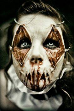 .Satanic harlequin