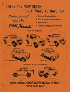 Scout Models Advertisement | Print | Wisconsin Historical Society