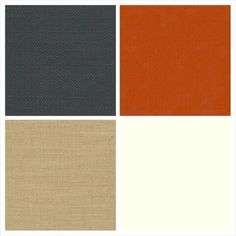 Charmin and Ken Ken's colors; Charcoal burnt orange ivory and BURLAP!!!!