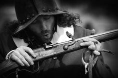 Battle Of The Boyne Living History Musketeer taken by Jennifer Farley an Irish photographer with a keen interest in informal portrait and travel photography