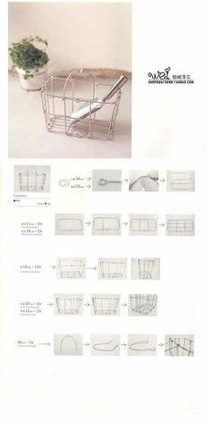 how to make little basket