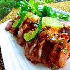 A wonderful overnight marinade gives your pork tenderloin a wonderful lime-grilled flavor. You can also grill one tenderloin and freeze the other for future use. Pork Tenderloin Recipes, Pork Recipes, Cooking Recipes, Barbecue Recipes, Pork Loin, Pork Roast, Chicken Recipes, Marinated Pork, Pork
