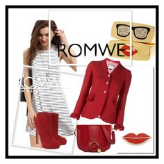 """ROMWE"" by lamijamala ❤ liked on Polyvore featuring Georgia Perry, Gucci, See by Chloé and Alexander McQueen"